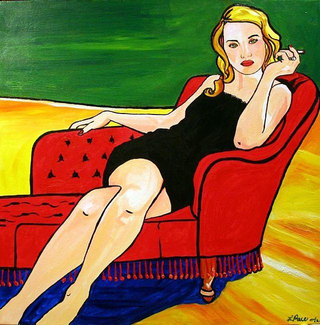 Nikki Pop Art Portrait of a best friend.  © Laurie Justus Pace 2006
