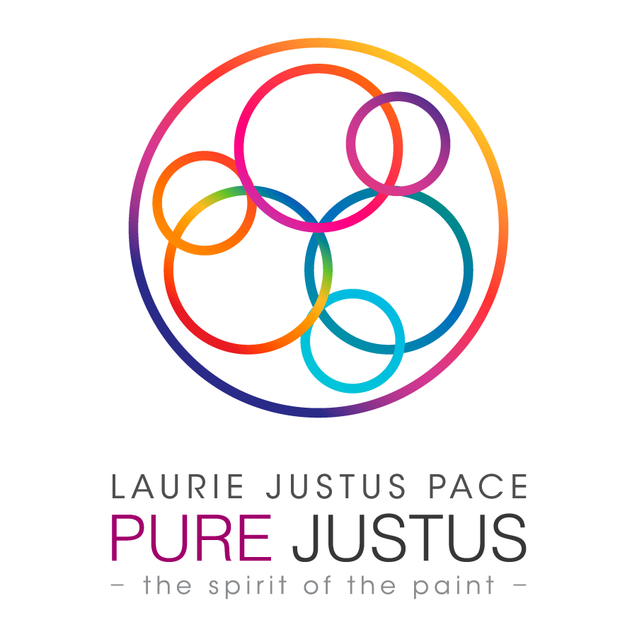 Laurie Pace  Pure Justus Collection  The Circle of Color  The SPirit of the Paint.jpg