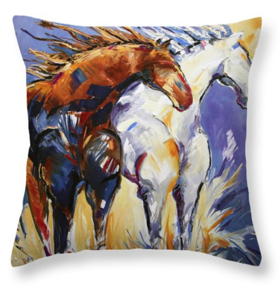 HORSEY PILLOW! GET YOURS TODAY HERE!