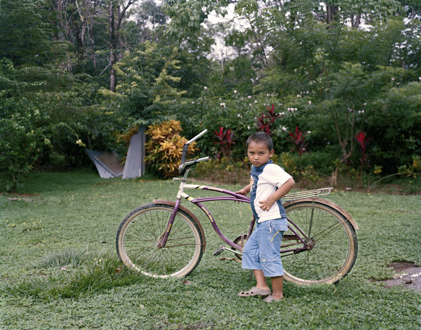 Agel with Bicycle