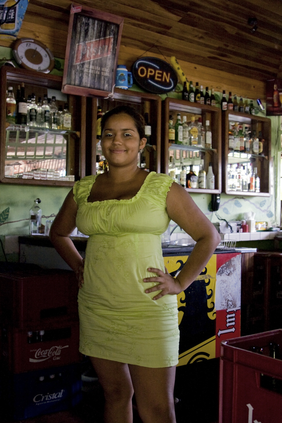 Waitress, Jurassic Bar