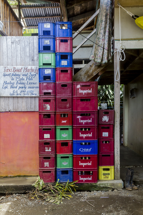 Beer Crates at Dona Dora's