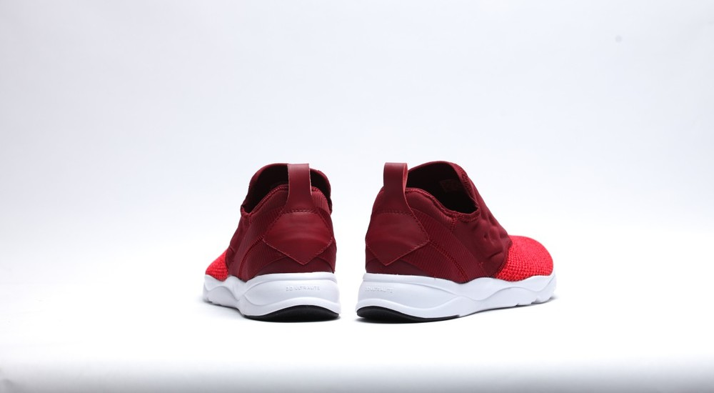 e4053ab9b00 The sneaker has a Burgundy and Neon Cherry colorway. The sneaker is  available at select retailers such as Afew on January 15 for €90 EUR  (approximately  99 ...