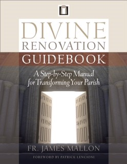 Fr. James has now published his second book,  The Divine Renovation Guidebook.