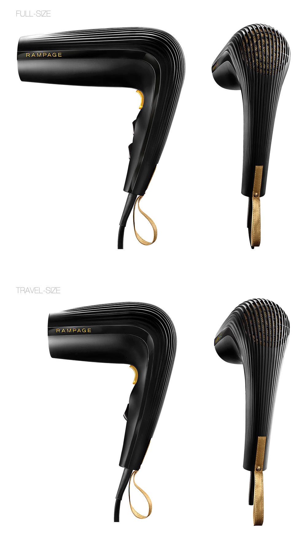 Rampage Hair Dryer Designs