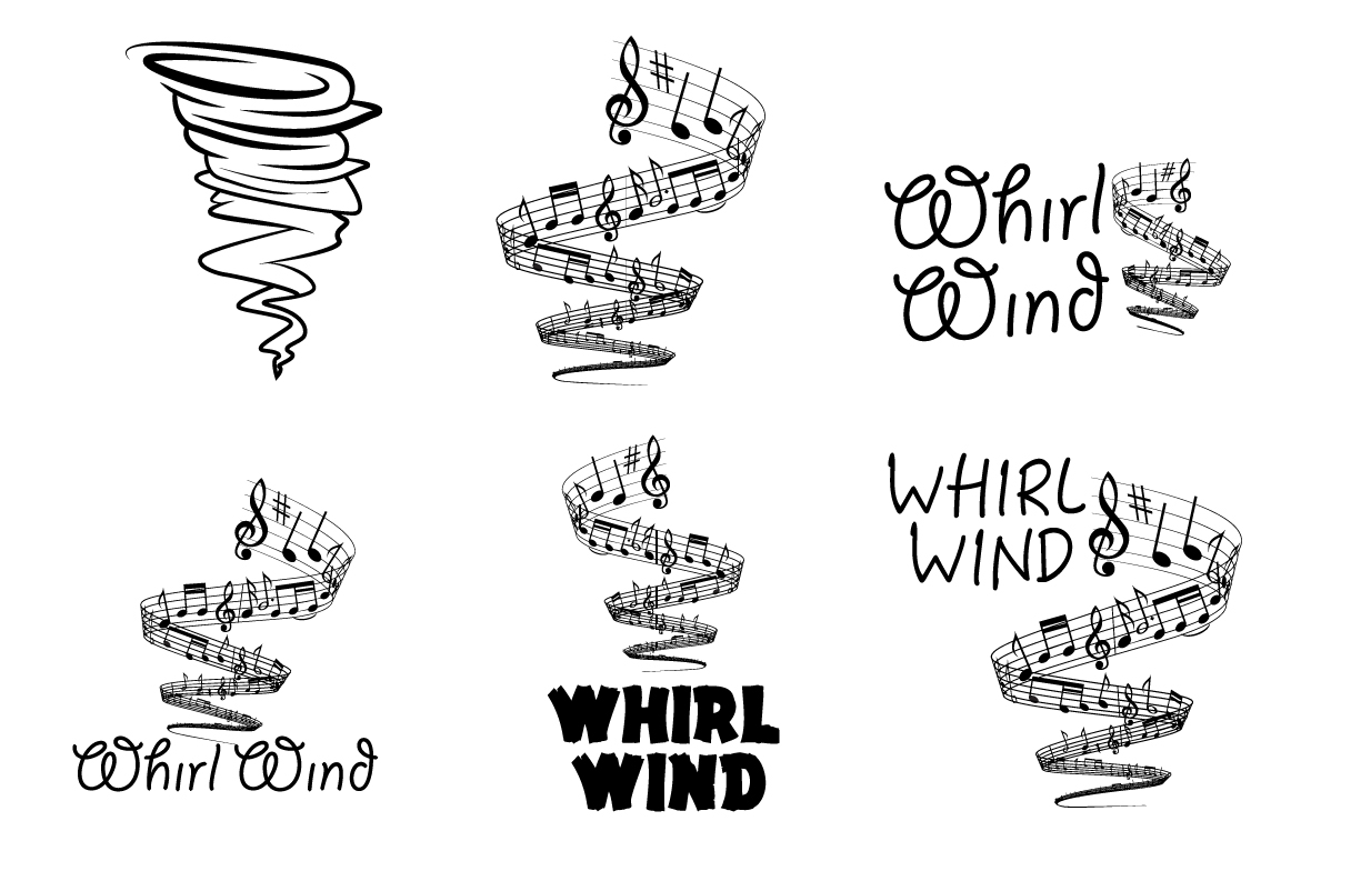 Whirlwind Musical Group Thomas Darby Graphic Designer