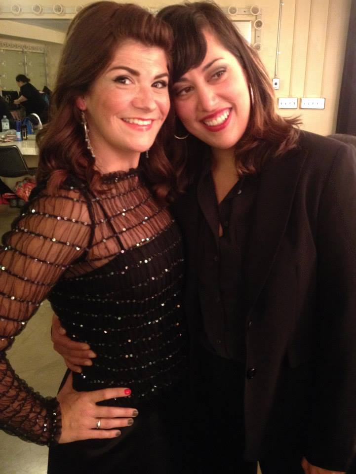 With Valery Saul at the   Portland Opera Gala