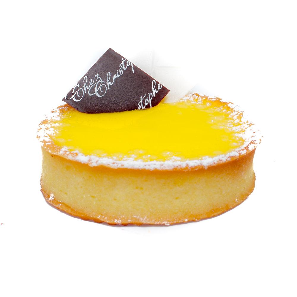 Tart au Citron - Lemon curd in a sweet pastry baseNut FreeAlcohol Free$6.20