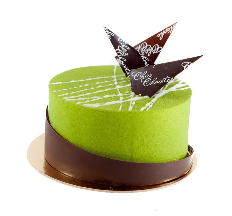 Sunny's Matcha - Matcha namelaka, matcha chiffon, lemon yuzu mousse and white chocolate sesame crunchAvailable in:4-5 servings $24.956-7 servings $29.958-9 servings $42.50