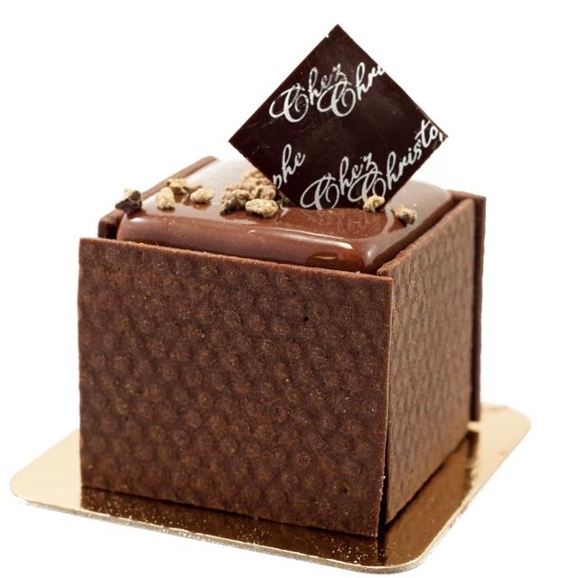 Chocolate Tart - 65% single origin dark chocolate cream with a milk chocolate mousse on a sweet chocolate crust$5.90