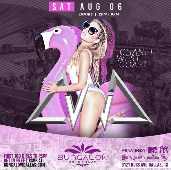 What up Dallas, TX! Come pool party and see me perform LIVE on Saturday, August 6th at Bungalow!! RSVP at bungalowdallas.com