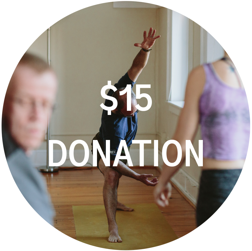 Supportive Donation - Pays the teacher covers operational costs and helps the studio to grow.