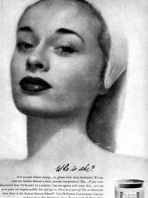 Glynis's NY model grandmother, Millie Lewis