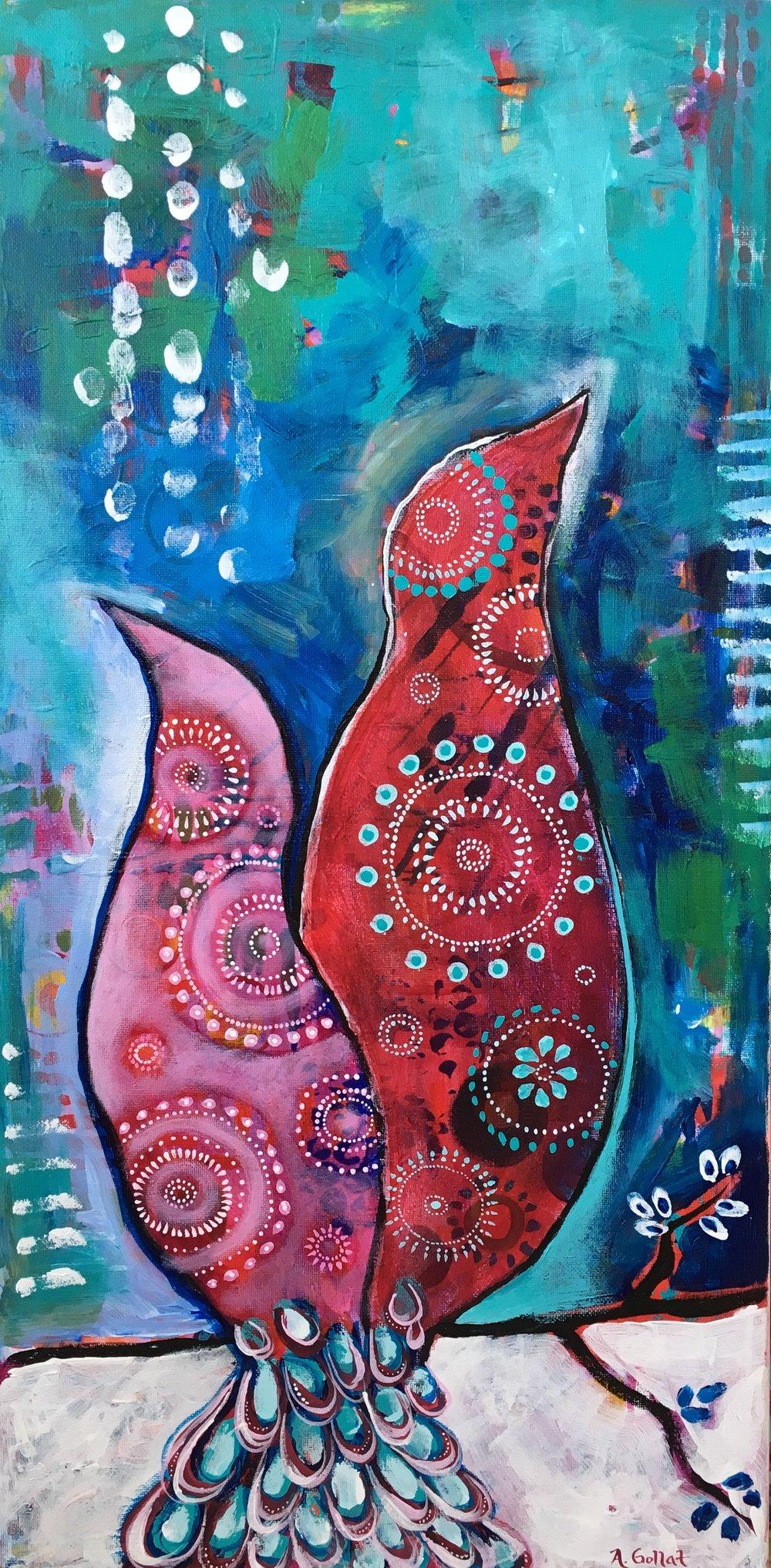 'Iintertwined' by Angela Gollat
