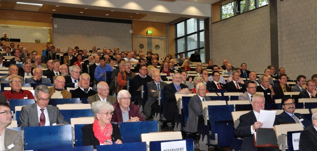 "The Audience of Symposium ""40 Jahre TORNADO"""
