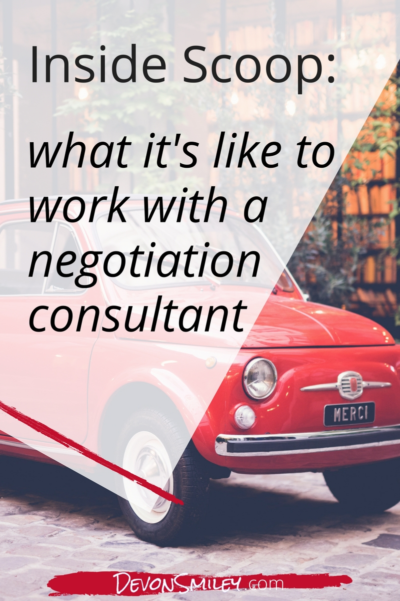 what to expect when you hire a negotiation consultant
