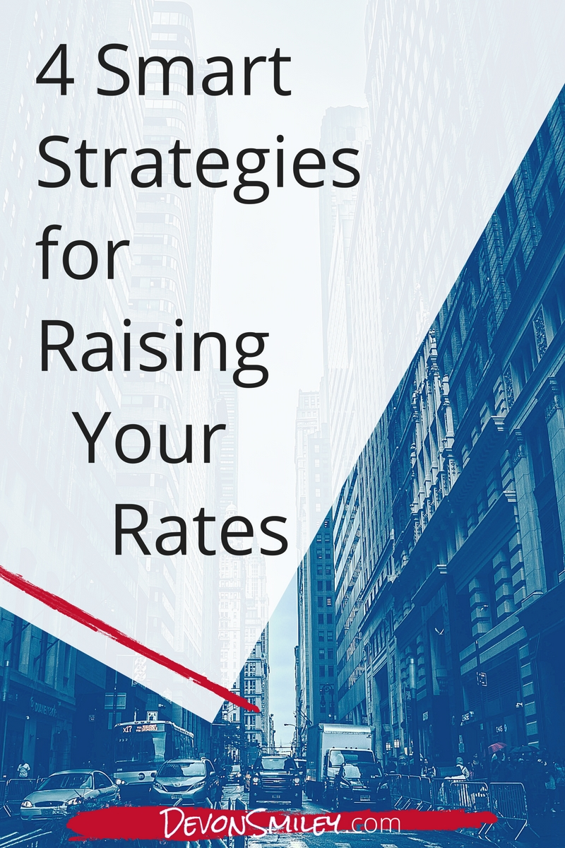 When to raise your rates