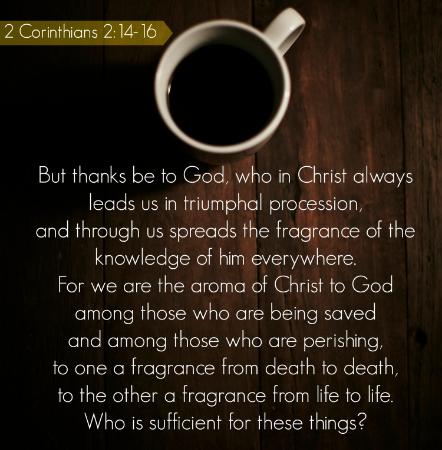 2 Corinthians 2:14-16