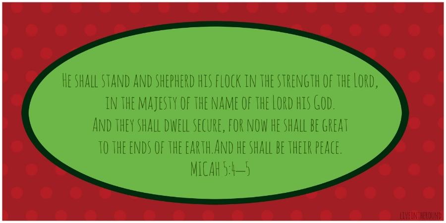 Micah 5:4-5