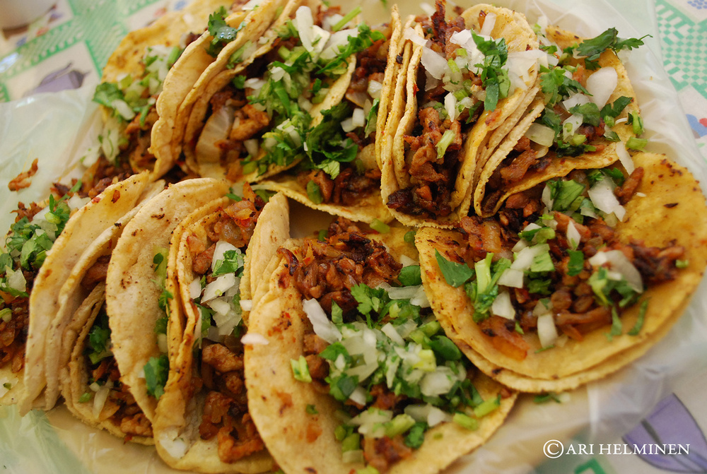 Tacos al Pastor. Photo credit: Ari Helminen
