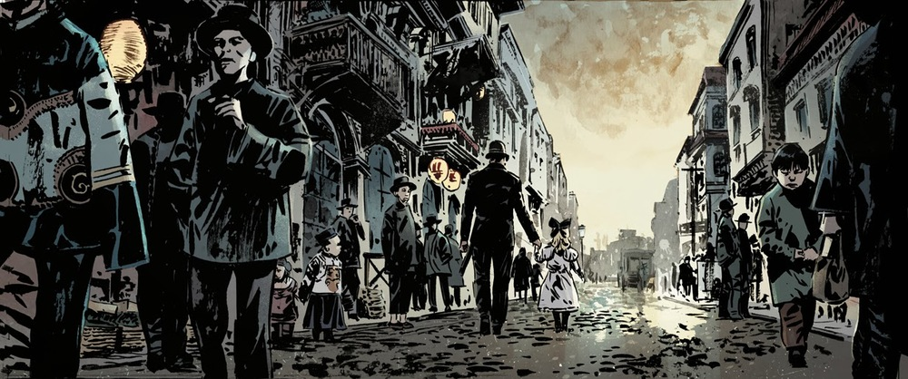 from The Crooked Man, by Hardman/Bechko/Breitweiser