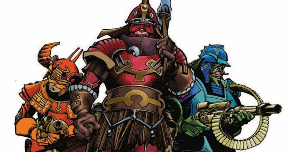 from the remastered, re-colored Star Slammers by Simonson