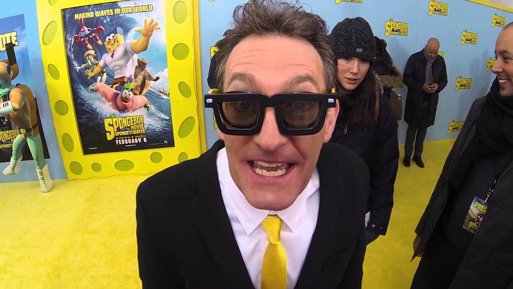 Electric Shadow Behind The Microphone With Tom Kenny