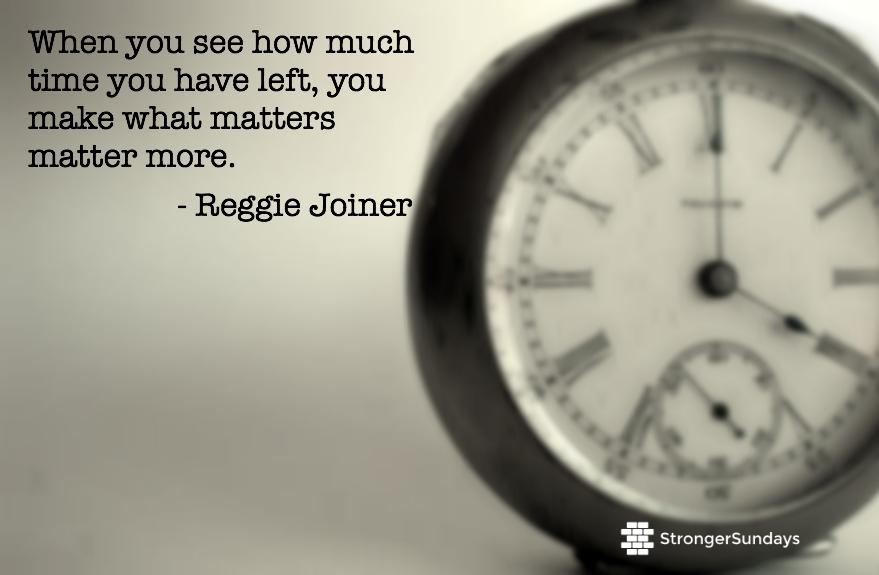 Time Left - Reggie Joiner