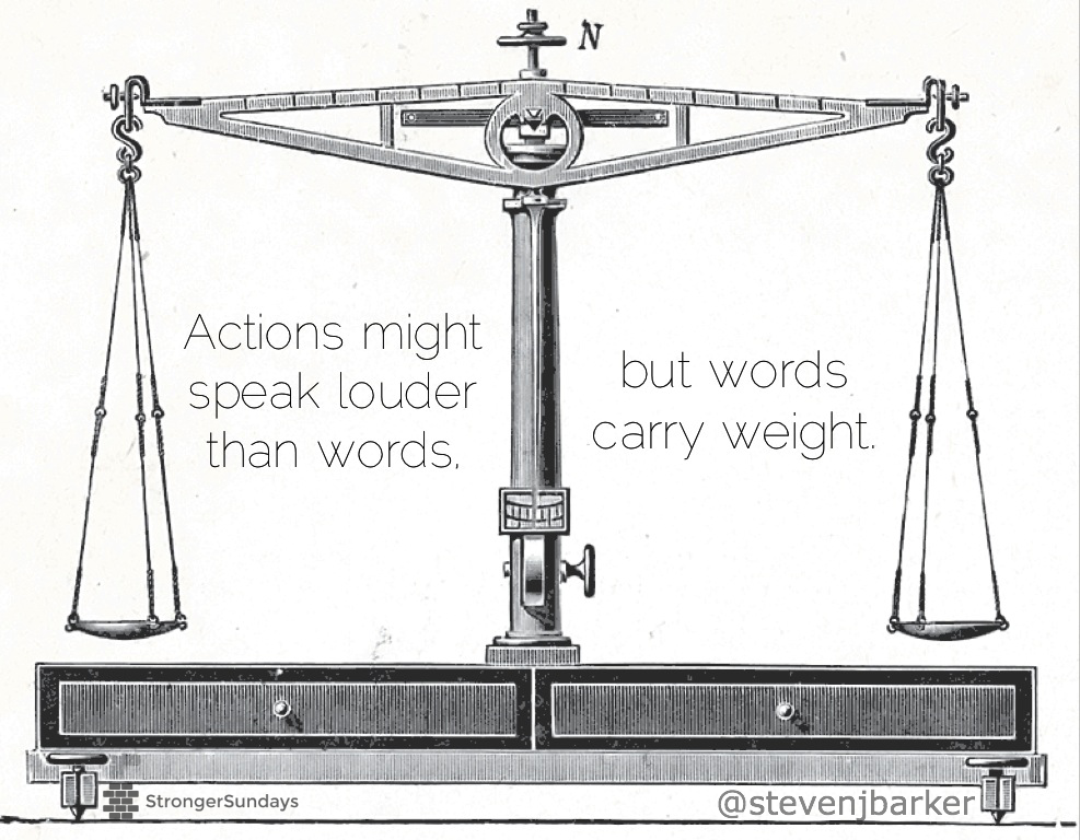 Words Carry Weight - StevenJBarker
