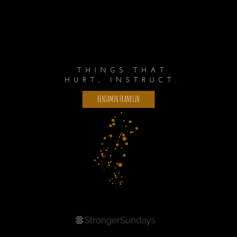 Things That Hurt, Instruct.
