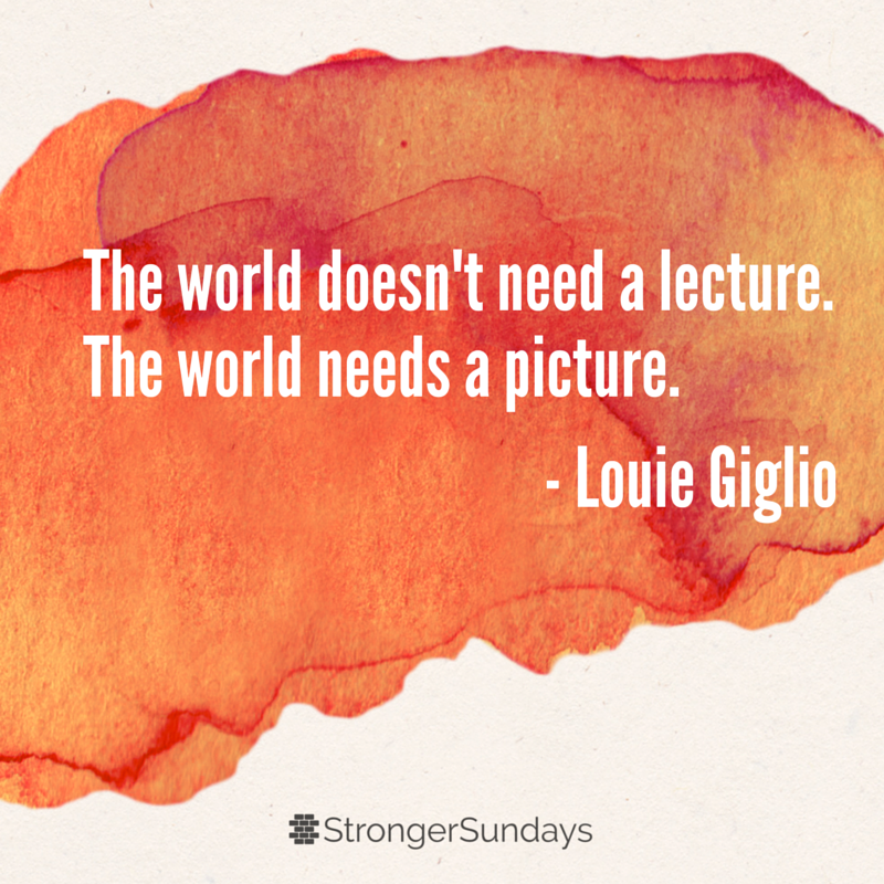 The World Doesn't Need a Lecture
