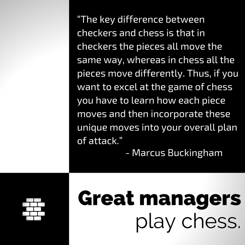 Great Managers Play Chess