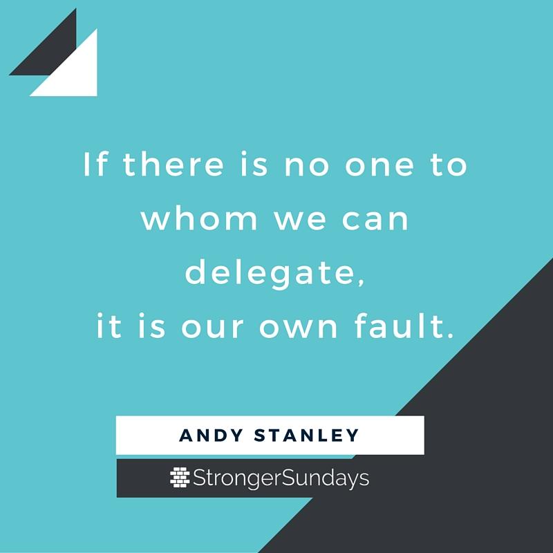 Delegate to someone