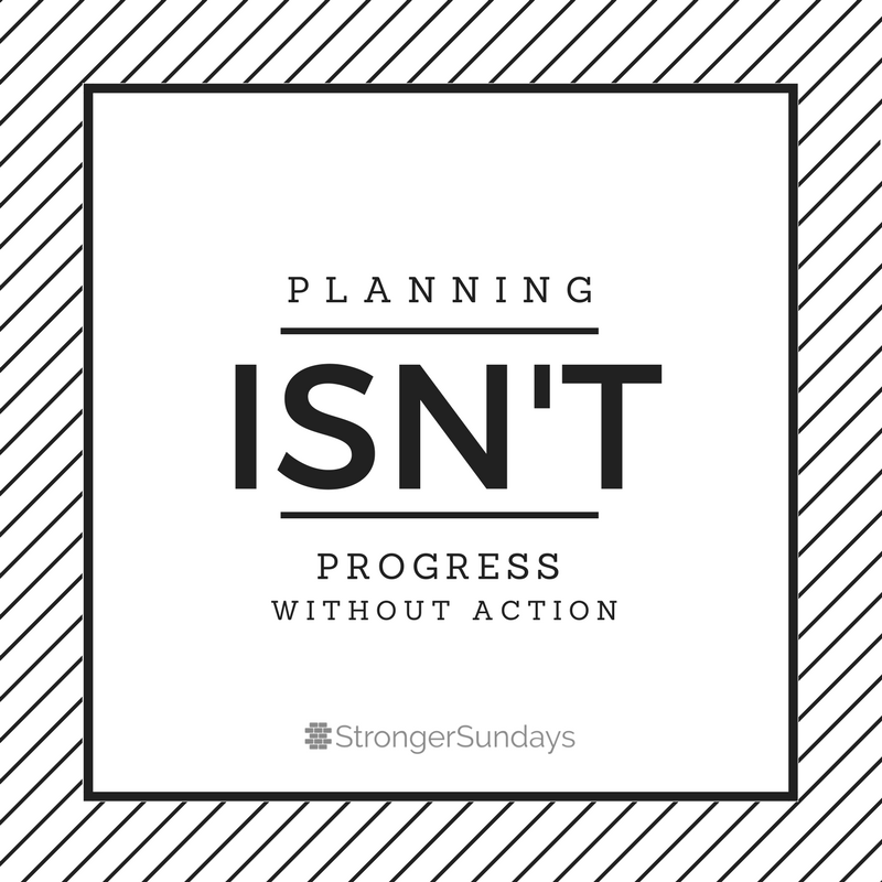 Planning Isn't Progress