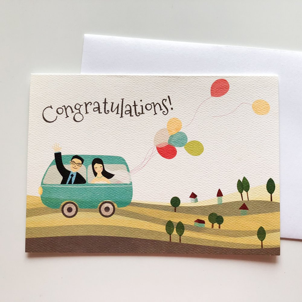 Greeting Card Illustration
