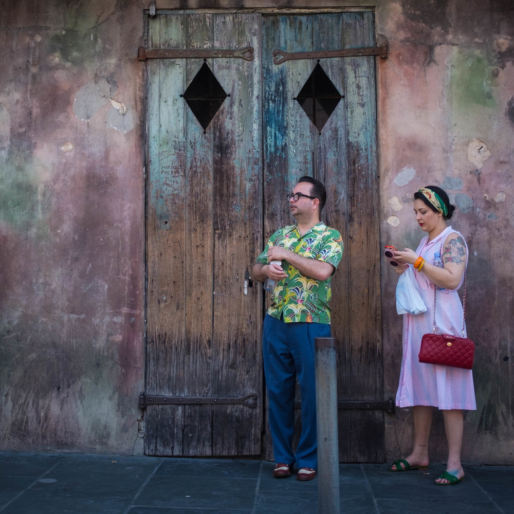 Colour coordinated New Orleans, LA Fuji X100T 6.16