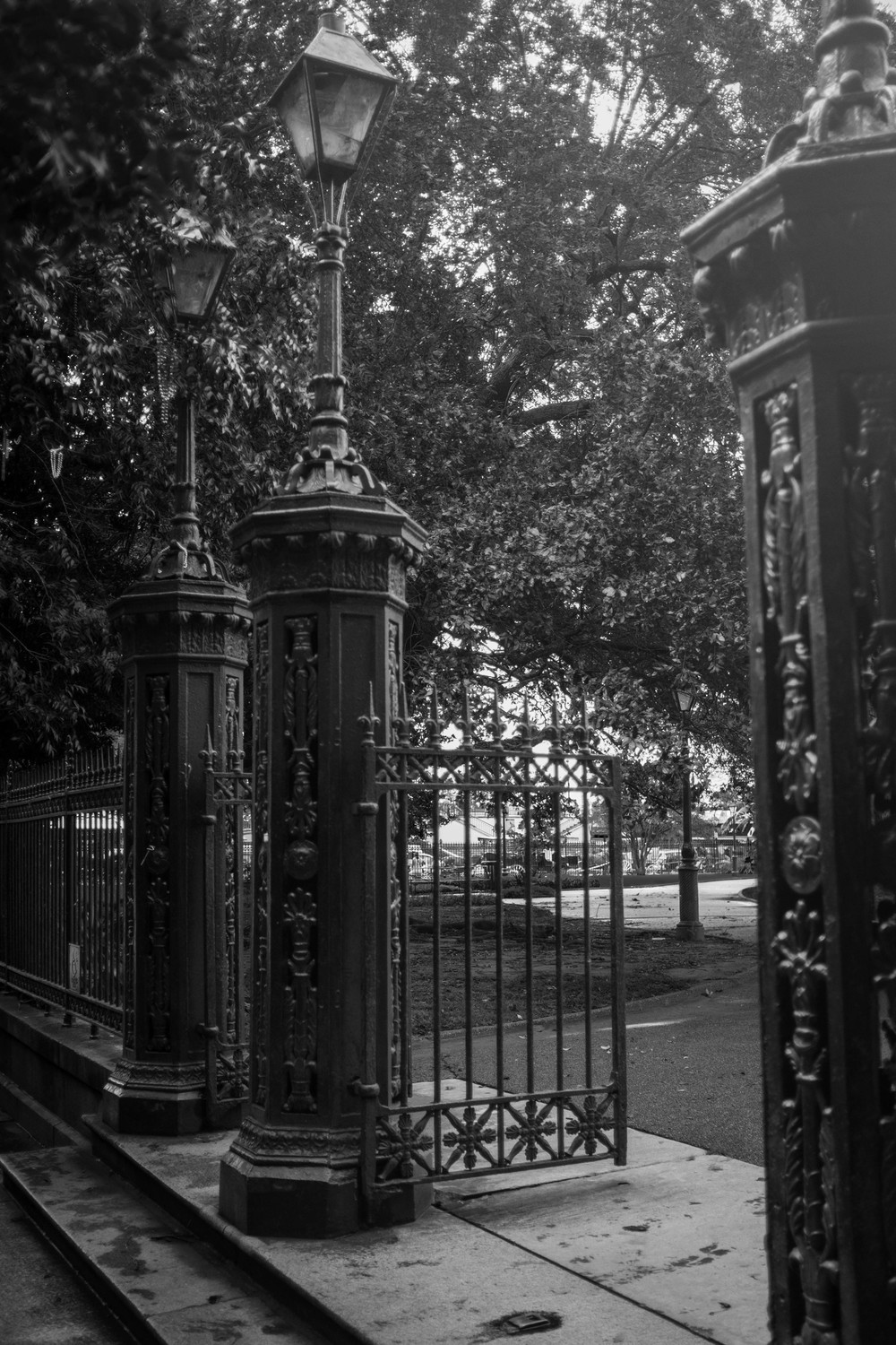 Gate to Jackson Square New Orleans, LA Fuji X100T 6.16