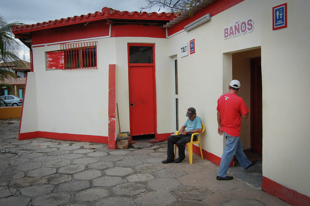 Toilet attendant Varadero, Cuba Nikon D40, 18-55mm F3.5 3.13
