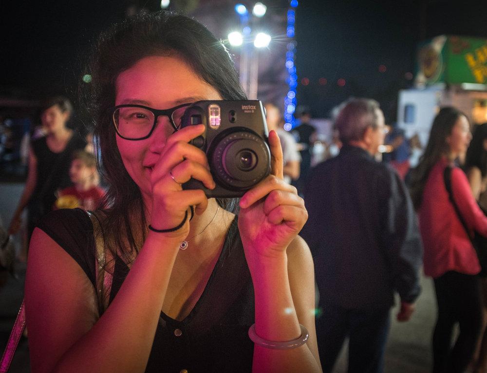 Instax photographer Richmond Night Market Fuji X100T 8.16