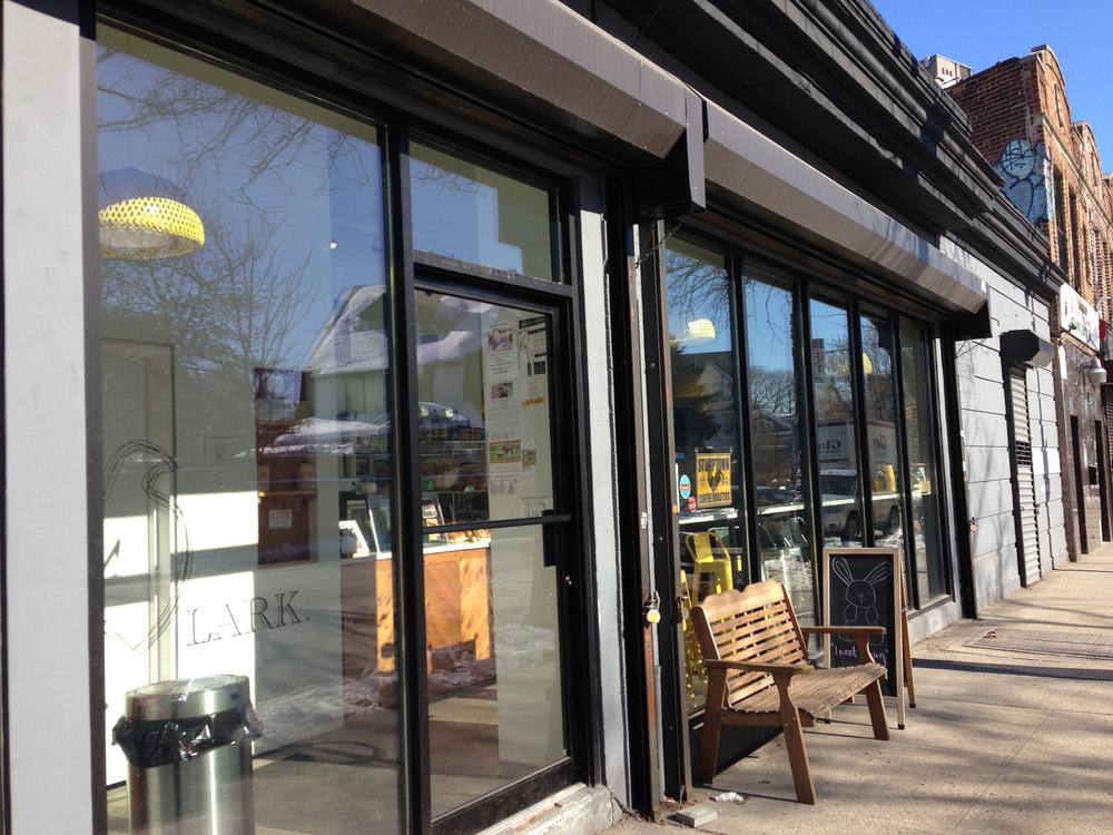 Exterior, Lark Cafe, Kensington/Ditmas Park
