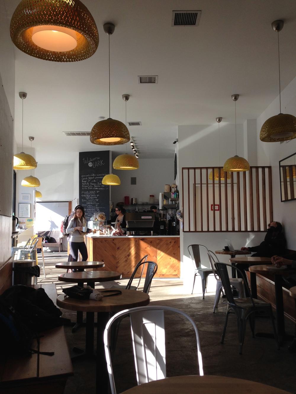 Interior, Lark Cafe, Kensington/Ditmas Park