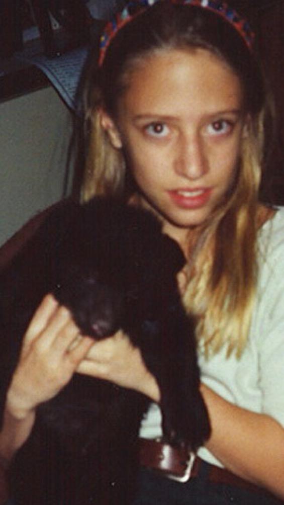 Megan, aged 9