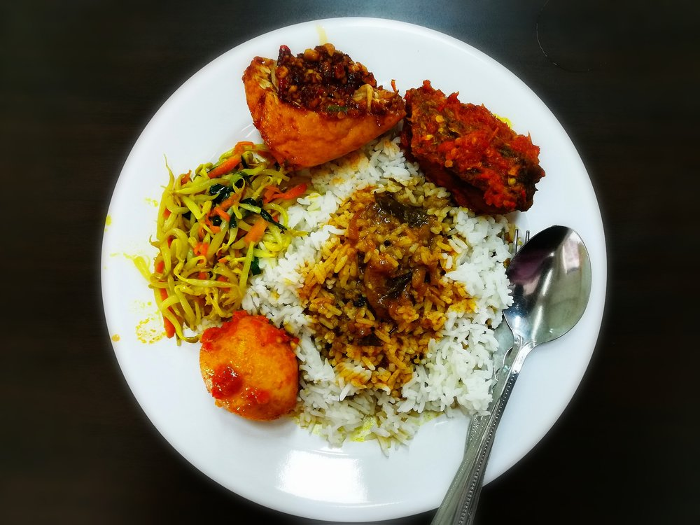 "Mmmmmm delicious, delicious history in the form of ""nasi campur"""