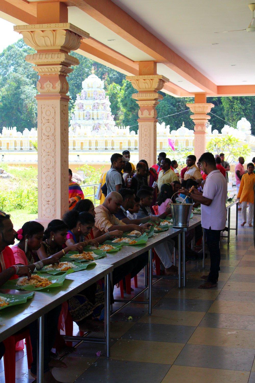 hop thaipusam penang 2018 waterfall temple food 1