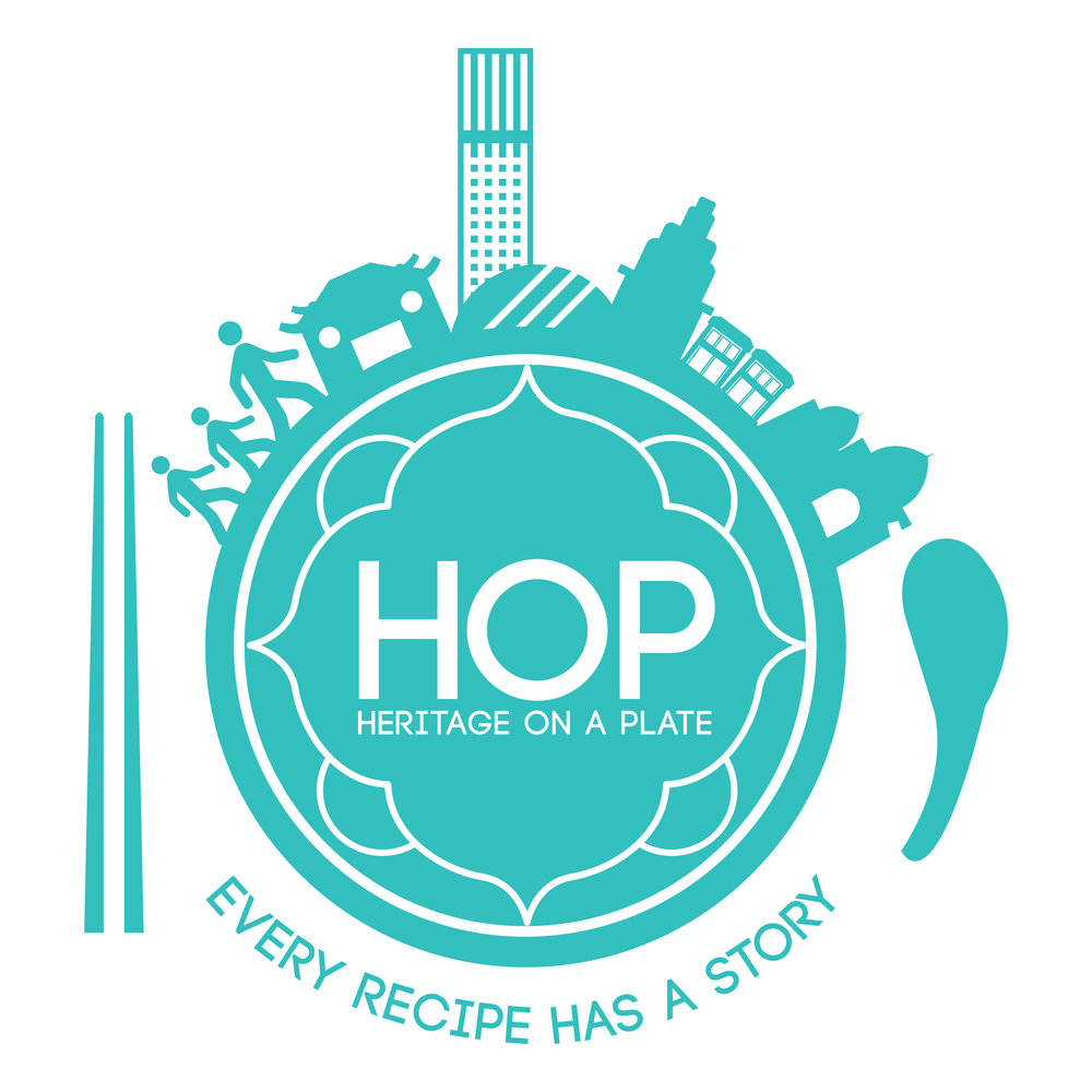 heritage on a plate food tour hop penang logo