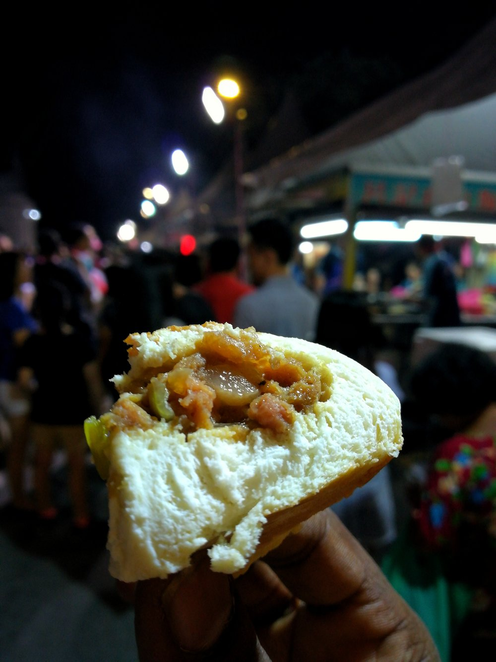 Salted Fish Bao