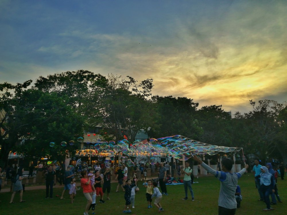 hop penang yosakoi festival bubbles