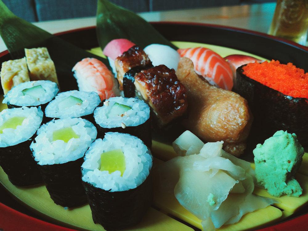japanese food penang sushi akiyoshi automall