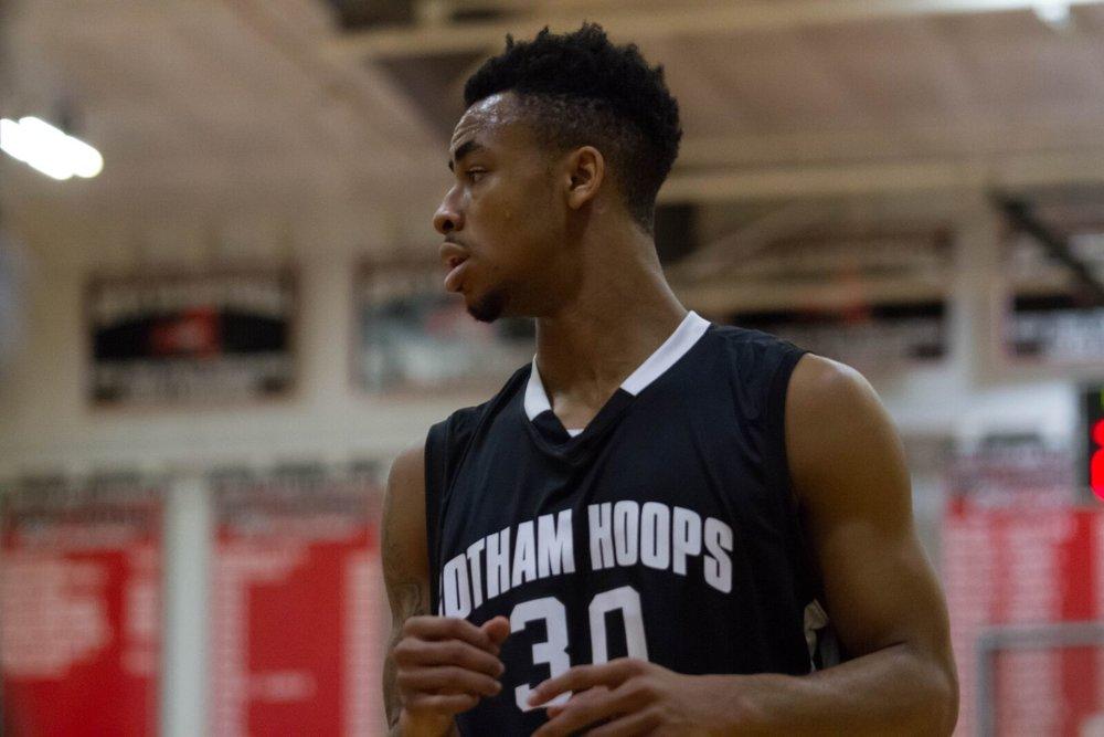 Jaylen Morris (Erie BayHawks - NBA G League) starred at the 2015 Gotham Hoops Invitational