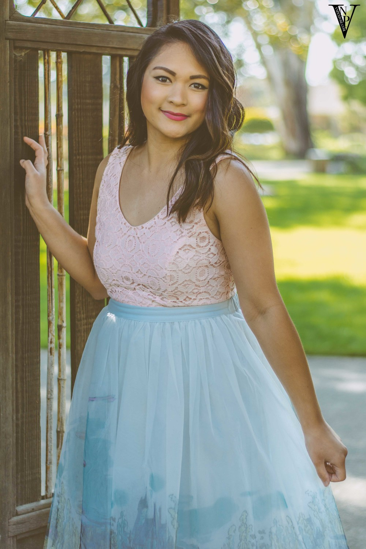Cinderella Castle Tulle Skirt from LC Lauren Conrad